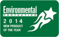Environmental Protection New Product of the Year Award 2014 Logo